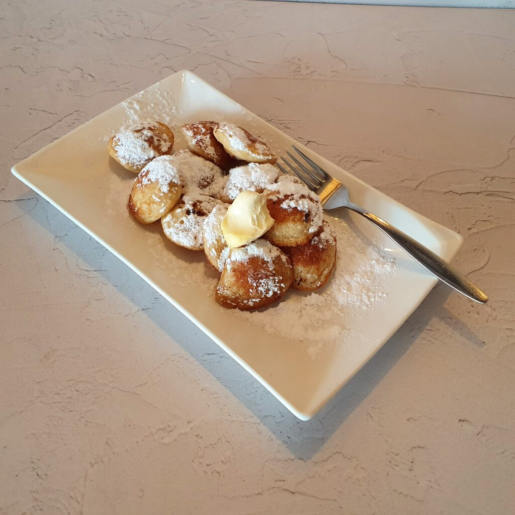 Kindermenu poffertjes