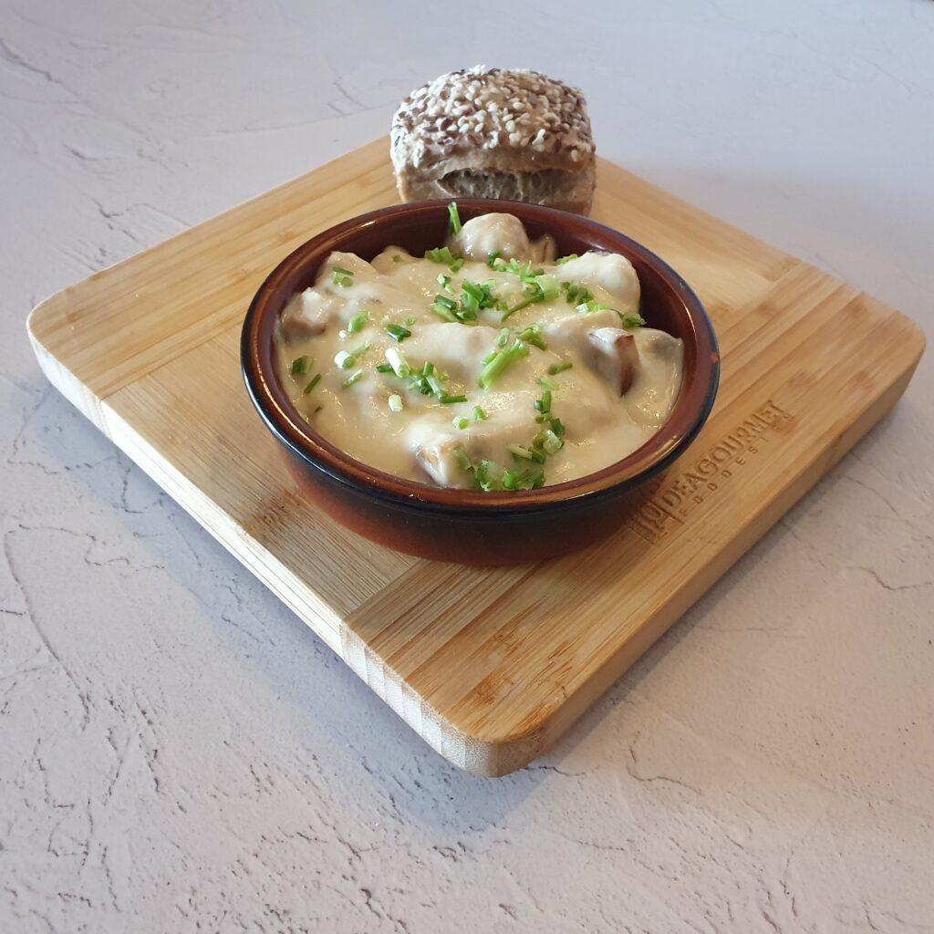Mini champignon aioli